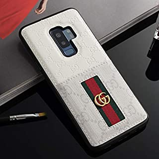 Galaxy S8 Case- US Fast Deliver Guarantee FBA- Elegant Luxury PU Leather Designer Case with Card Holder Slot Cover for Galaxy S8
