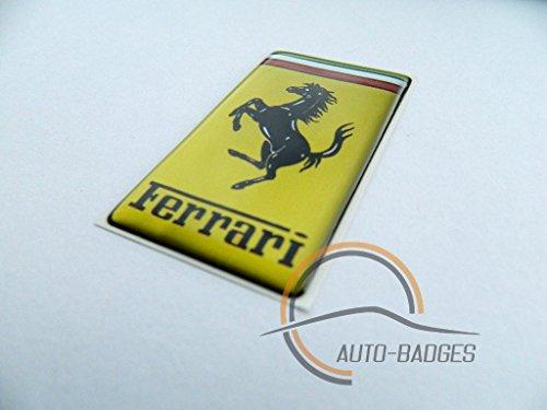 Ferrari-Abzeichen für die Seite, Classic-Vintage, Kofferraumabzeichen