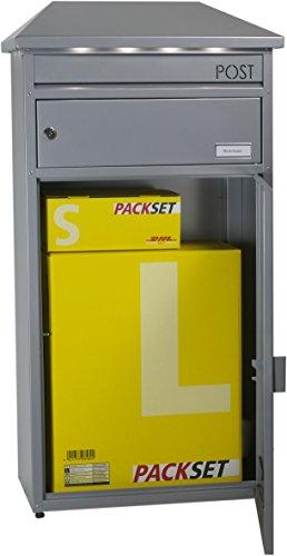 Ein Paketbriefkasten mit eingebauter LED Beleuchtung