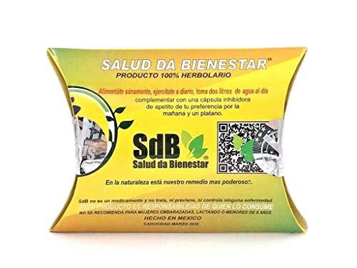 Semilla de Brasil/Brazil Seed 100% Original SDB/Quemador de Grasa/Sellos Originales/Semilla de gran tamaño / (Para 30 Dias) Caja amarilla.