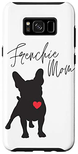 Galaxy S8+ Frenchie Mom French Bulldog White Case