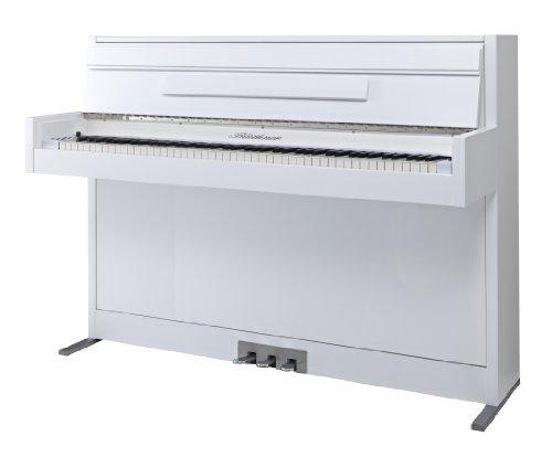 Blüthner ek2-lack-wm e-Klavier Modell 2 Lack satiniert weiß