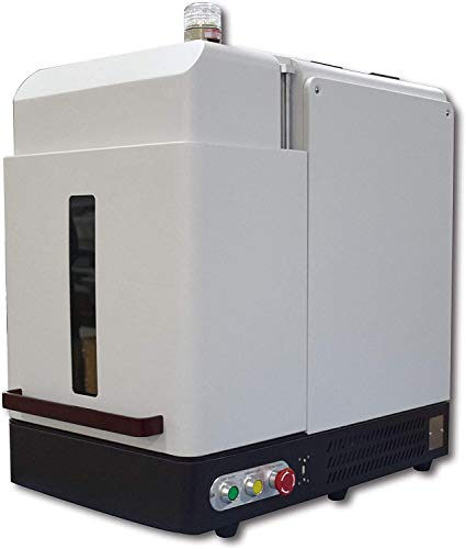 50W Enclosure Chinese Laser Engraver Machine With 110×110mm Lens and D69 Rotary Axis