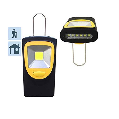 Edp 36003 Linterna Petaca Led Xl, 3 X AAA, Pilas Incluidas, Negro
