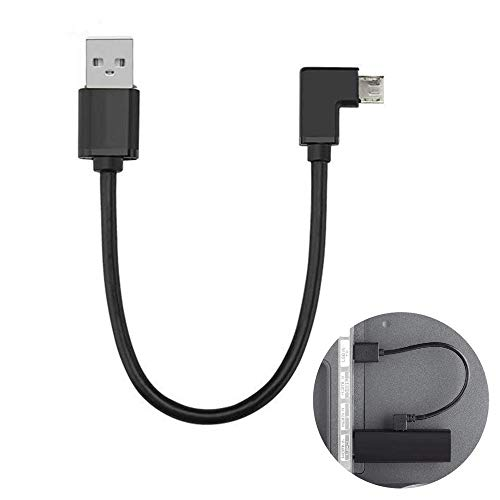 Mini Power Cable for TV Stick, TengKo Micro USB Cable Mini Power Cable Charging Cable for TV Stick, Chromecast, Roku, Powers The TV Stick from Your TV USB Port