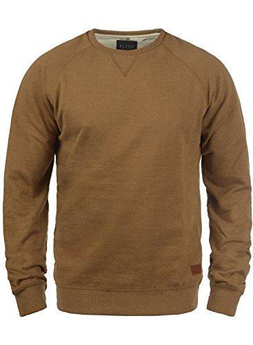 BLEND Alex 20701680ME Sweatshirt, Größe:M;Farbe:Dark Mustard (75116)