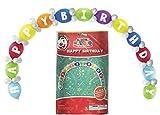 Xylsto Feliz Cumpleaños Globo Vinculación Bricolaje Kit (Paquete De 65)   Partido-Ley-189