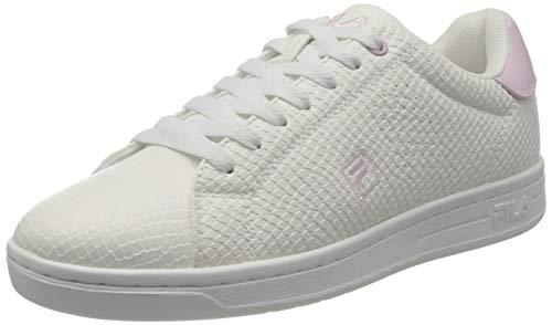 FILA Crosscourt 2 F wmn zapatilla Mujer, blanco (White/Light Lilac), 39 EU