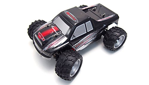 Amewi-Vortex18, Monstertruck Vortex18 Red, Monster Truck 1:18 4WD RTR, Colore: Rosso, 22273