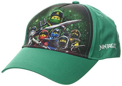 Lego Wear Jungen cm Lego Ninjago Kappe,per Pack Grün (Green 869),56 (Herstellergröße:56)
