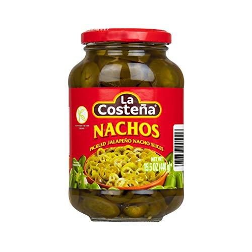 La Costena Jalapeno Nacho Scheiben   440gr   Mexikanische Küche   Jalapenos in Scheiben geschnitten   mild bis mittelscharf   Zu Enchiladas oder Quesadillas   Hervorragender Geschmack
