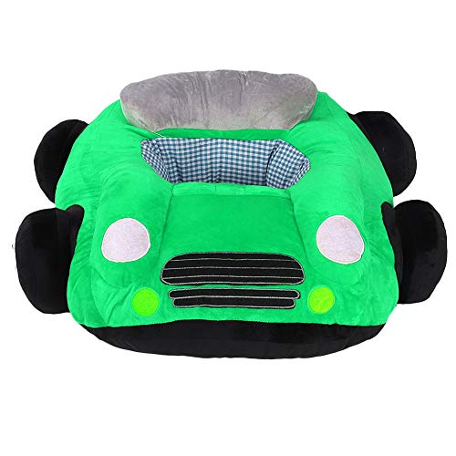 Review Infant Car Sofa Plush Sofa for Baby Toddler Cartoon Plush Support Seat Learning Sit Chair(Gre...