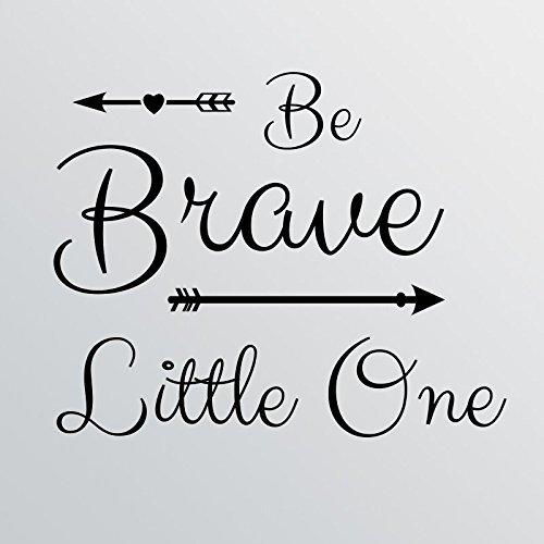 28'x24' Be Brave Little One Wall Decal Sticker Art Mural Home Decor Cute Nursery Baby Boy Girl Arrow...