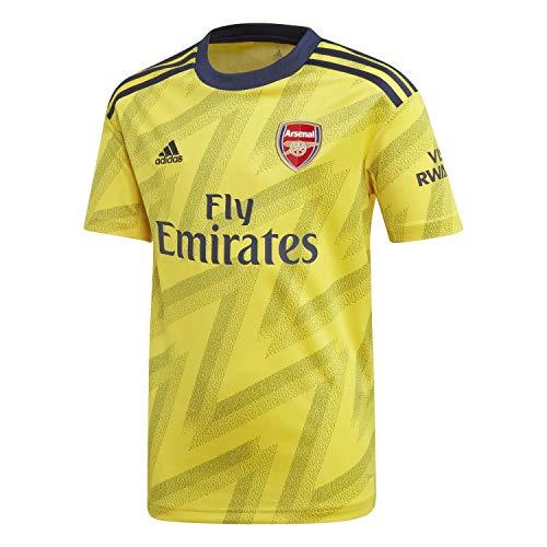 adidas Kinder Arsenal FC Away Jersey 2019/20 Trikot, EQT Yellow, 176