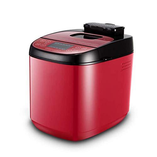Máquina de hacer pan estantería hogar automático de múltiples funciones Máquina de hacer pan Carne Floss Haciendo amasado y fermentación de la harina automático Máquina de pan multi-Func panificadoras