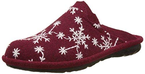 Romika Damen Mikado 98 Pantoffeln, Rot (Bordo-Kombi (411), 42 EU