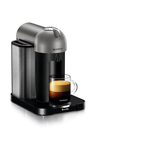 Nespresso by Breville BNV220TTN1BUC1 Vertuo Coffee and Espresso Machine, Titan