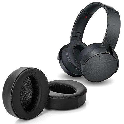 Earpads for Sony MDR-XB950BT Replacement Ear Cushion Pads with Protein Leather and Memory Foam for Sony MDR-XB950BT XB950B1 XB950N1 On Ear Headphones ONLY, Black