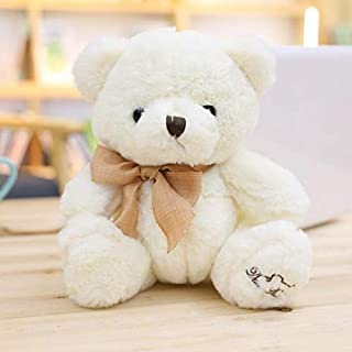 Plush toys, hot selling 18cm 25cm fluffy adorable soft stuffed bear plush toys with bows classical gifts for children plus...