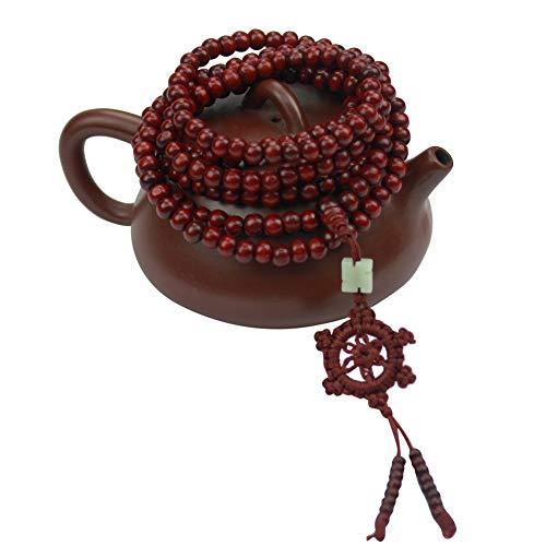 eYourlife2012 Tibetan Sandal Buddhist Buddha Meditation 216 Beads Prayer Bead Mala Bracelet