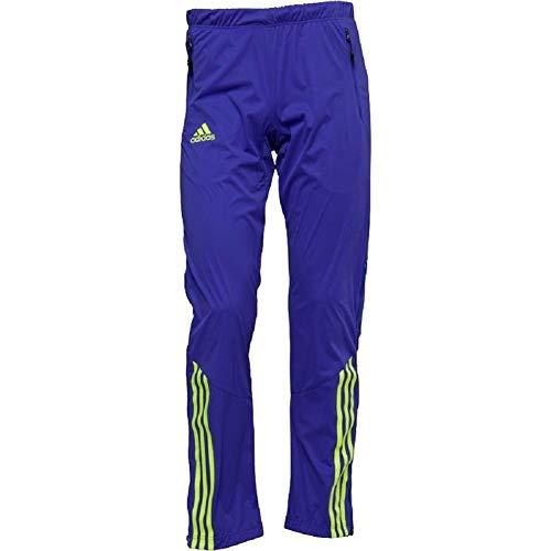 adidas Herren Xperior Soft Shell Ski Pants Lila/Fluoreszierendes Gelb (Waist 36