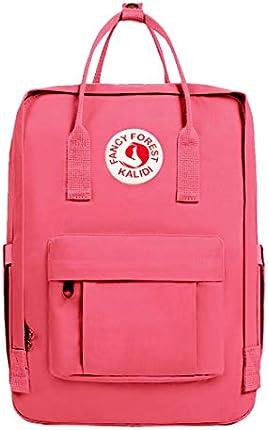 KALIDI Mochila casual para mujer, 15 pulgadas, mochila clásica para laptop, campamento, viajes, exteriores, escuela