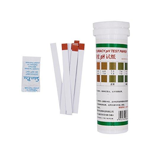 AIKONG pH-Streifen Wasser Speichel pH-Bereich Alkaline Säure 5,5–8 Papier Lackmus-Indikator Test-Kit 21{7157cb858a4fe1d16de755308a6df401b9a51c2febbe7583364cbd56d8319fdc} Off