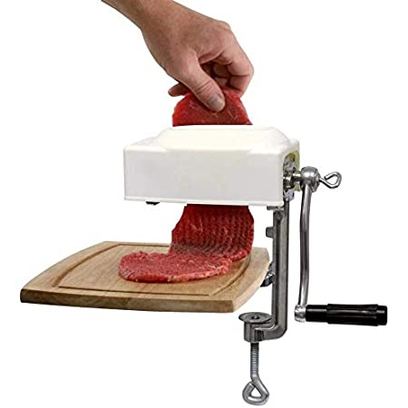 Commercial Meat Tenderizer Cuber Heavy Duty Steak Flatten Tool Meat Tenderizer Tool Meat Grinder Attachment Clamp-on Meat Tenderizer Rolling Meat Tenderizer