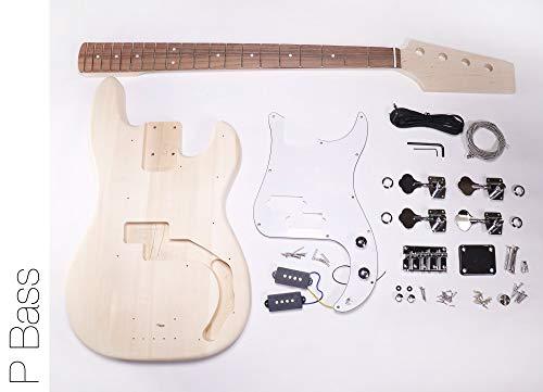 DIY Electric Bass Guitar Kit - P Bass Build Your Own