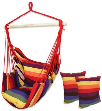 Manoch Cotton Save money Canvas Hammock Hanging High material Rope Pillows Por with Chair