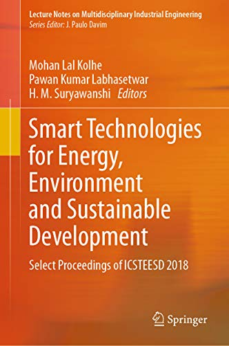 Smart Technologies for Energy, Environment and Sustainable Development: Select Proceedings of ICSTEE