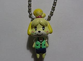 Animal Crossing Jump Out New Leaf Figure Swing Keychain -Shizue Isabelle