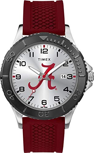 Timex Men's Alabama Crimson Tide Bama Gamer Watch Silicone Watch