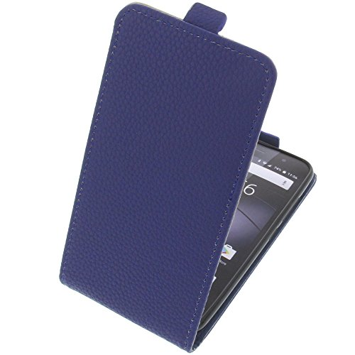 foto-kontor Tasche für Gigaset GS160 / GS170 GS170 Smartphone Flipstyle Schutz Hülle blau
