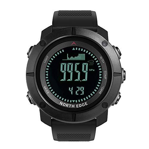 XIAMUSUMMER Herren North Edge Sport Digitaluhr Stunden Outdoor Sport Laufen Schwimmen Militär Armee Multifunktionale Smart Uhren Höhenmesser Barometer Kompass wasserdicht 50m