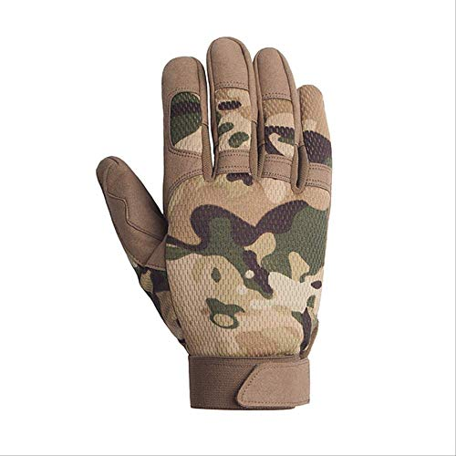 AMZIJ GlovesTactical Gloves Rutschfeste Army Military Fahrrad Airsoft Motocycel Schießen Paintball Arbeitsausrüstung Camo Vollfingerhandschuhe Männer XL Multicam