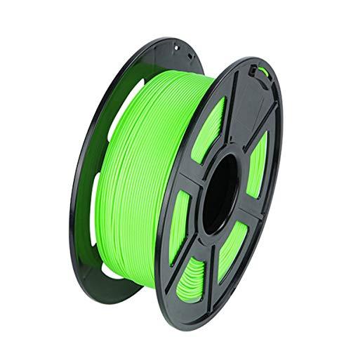 VOMI PLA 3D Printer Filament 1kg per Spool (2.2 LBS) Green PLA Filament 1.75mm, Dimensional Accuracy +/- 0.02 mm, Vacuum Packaging 3D Printing Filament Materials for 3D Printers, 3D Pens