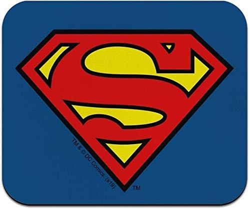 Alfombrilla de ratón de perfil bajo con logotipo de Superman Classic S Shield