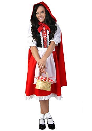 Plus Size Little Red Riding Hood Fancy Dress Costume 8X