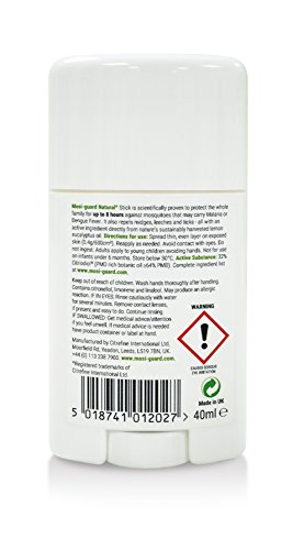 Mosi-Guard Stick anti-insectes naturel 40 ml