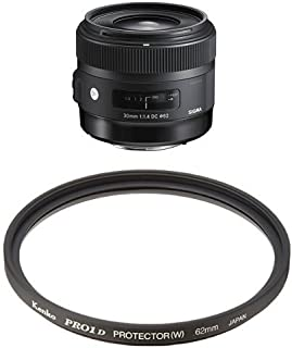 SIGMA 単焦点標準レンズ Art 30mm F1.4 DC HSM キヤノン用 APS-C専用 + Kenko レンズフィルターセット