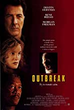 OUTBREAK (1995) Original Movie Poster - 27x40 - Folded - Double-Sided - Dustin Hoffman - Rene Russo - Morgan Freeman - Kevin Spacey