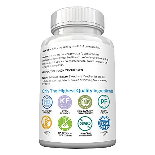 Keto Diet Pills - New - Exogenous Ketones Supplement Advanced Weight Loss for Women & Men with Best Ketogenic Fat Burner Beta Hydroxybutyrate BHB Salts to Keto Burn Fat - Easy to Swallow Capsules 3