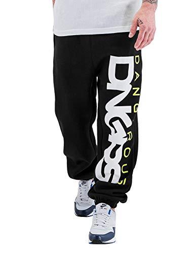 EGOMAXX DNGRS Herren Jogginghose Classic Urban Jogger Sewat Pants, Farben:Grün, Größe Hosen:5XL