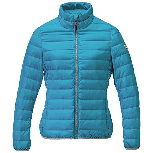 Dolomite Damen Chaqueta Settantasei Unico W1 Jacke, türkis/blau, XXL