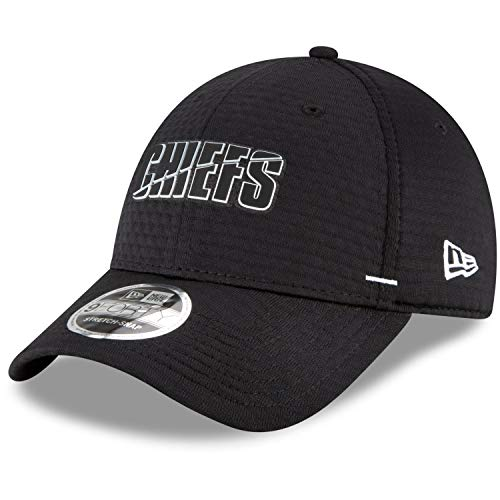 New Era 9FORTY Stretch Cap - NFL Black Kansas City Chiefs