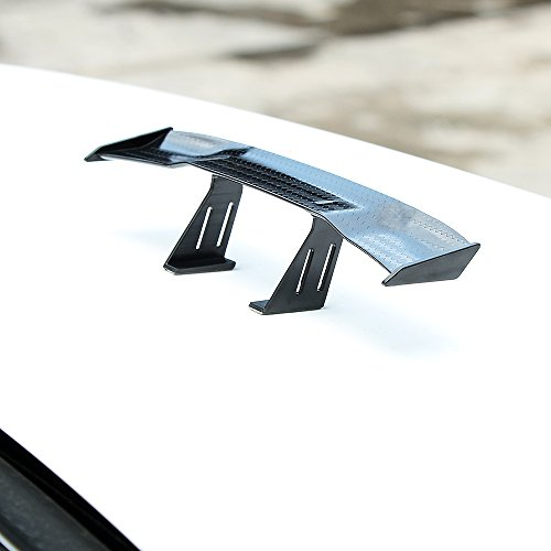 Universal Car Mini Spoiler Wing Small Model Carbon Fiber Auto Car Tail Decoration Spoiler Wing Accessories Car-styling