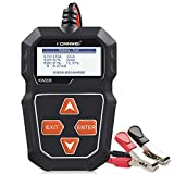 KONNWEI KW208 12V Car Battery Tester, 100-2000 CCA Load Tester Automotive Alternator Tester Digital Auto Battery Analyzer Charging Cranking System Tester for Car Truck Marine Motorcycle SUV Boat