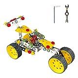 KAIM STEM Racing Car Metal Model Building Kit, Building Toy...