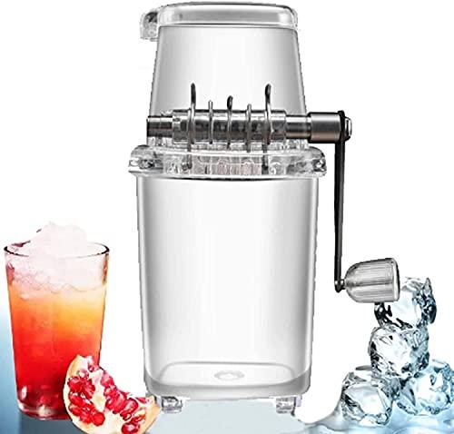 Máquina trituradora de hielo portátil, máquina de hielo afeitada máquina de hielo antideslizante máquina de cono de nieve máquina herramienta de cocina para el hogar